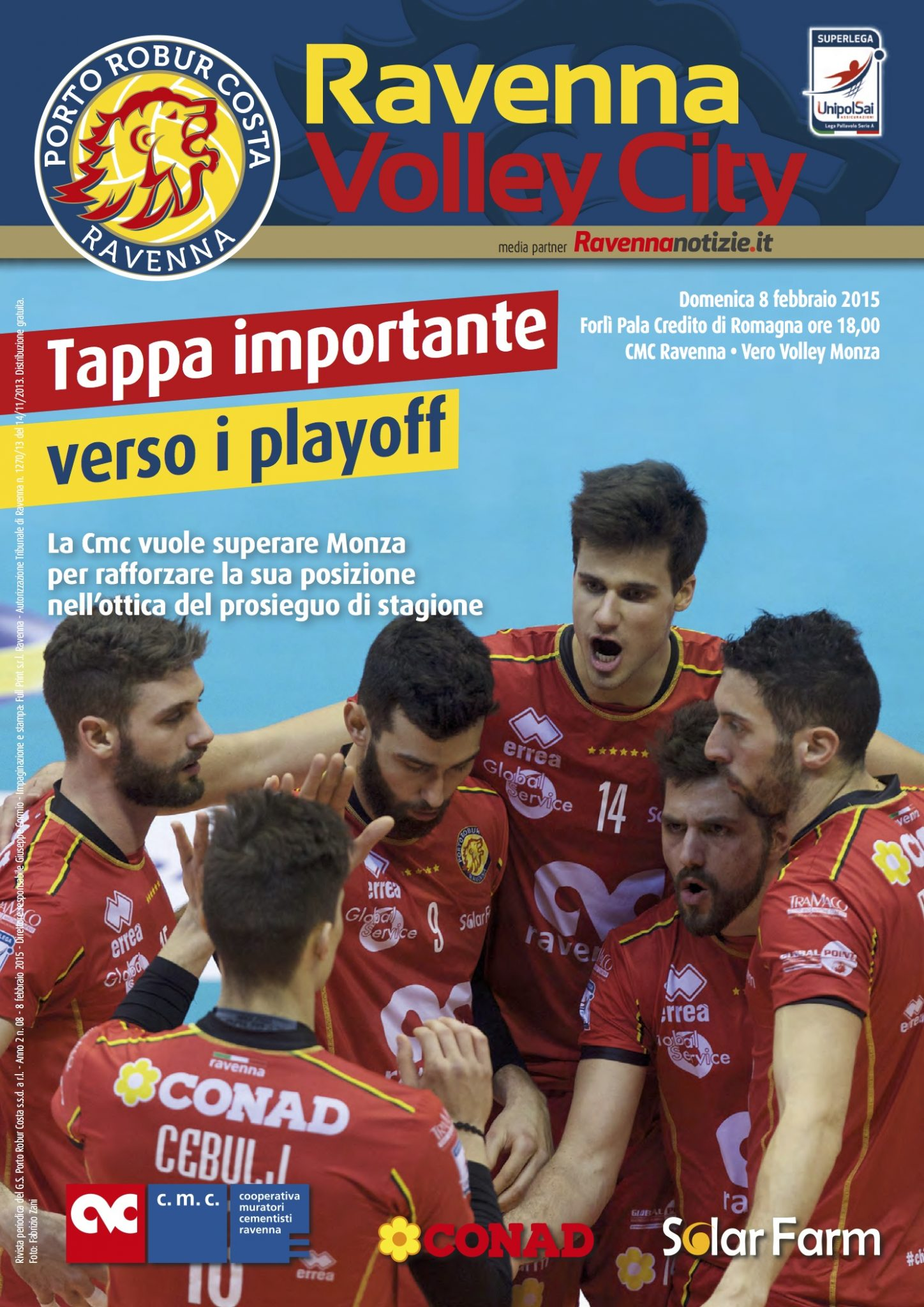 Ravenna Volley City - anno 2 n 8